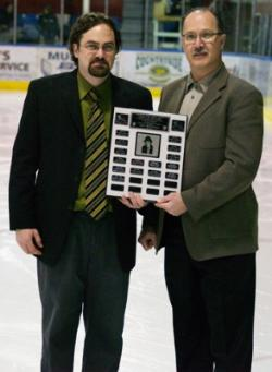 Craig Atkinson with Murray Muzz McPherson Memorial Award