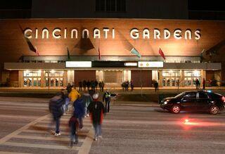 Cincinnati gardens exterior 2004