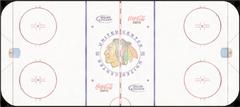 Chicago Blackhawks ice rink logo