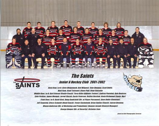 St. Boniface Saints 2001-02 web