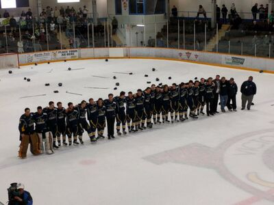 2016 Cyclone Taylor Cup champs 100 Mile House Wranglers