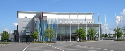 Cloetta Center, Linköping, juli 2005