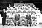 Omaha Knights Hockey Team Photo 1962