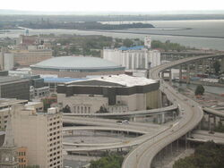 HSBC Arena and the Aud