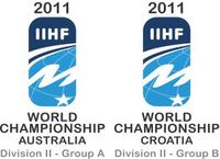 2011 IIHF World Championship Division II Logo