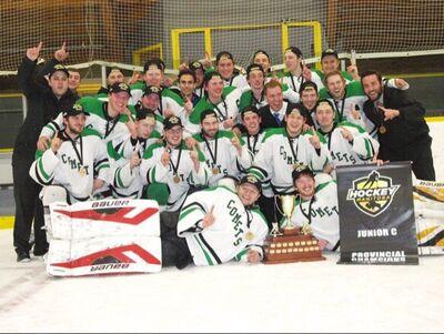 2016 HTJHL champs Lorette Comets