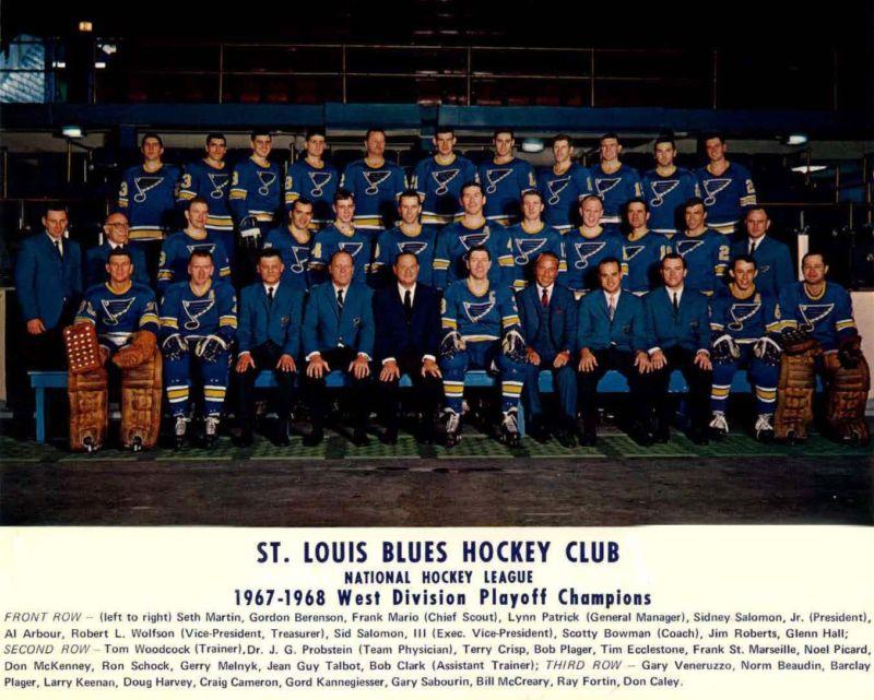 1967 68 st louis blues season ice hockey wiki fandom powered by wikia. Black Bedroom Furniture Sets. Home Design Ideas