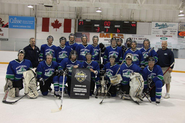 South East Prairie Thunder 2012 Manitoba Senior AAA champions
