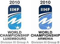 2010 IIHF World Championship Division III Logo