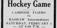 1932-33 Alberta Intermediate Playoffs