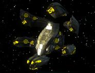 Alien Gunship Convoy 01