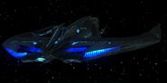 Alien Interceptor from behind