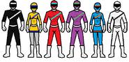 6 rangers 6