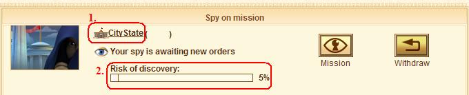 Spy status