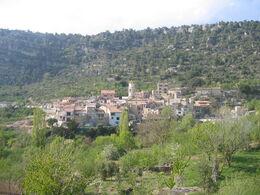 Vista general d'Arbolí