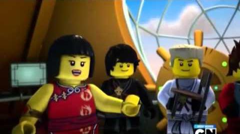 Lego ninjago rise of the snakes episode 2 - End of empire episode 9