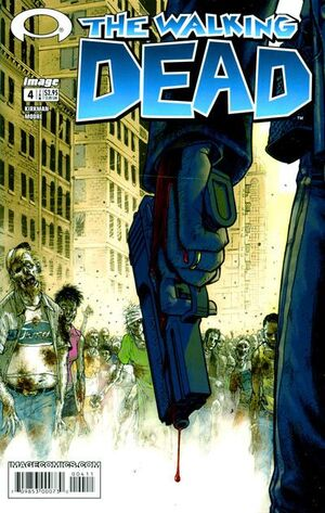 Cover for The Walking Dead #4 (2004)