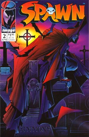 Cover for Spawn #2 (1992)