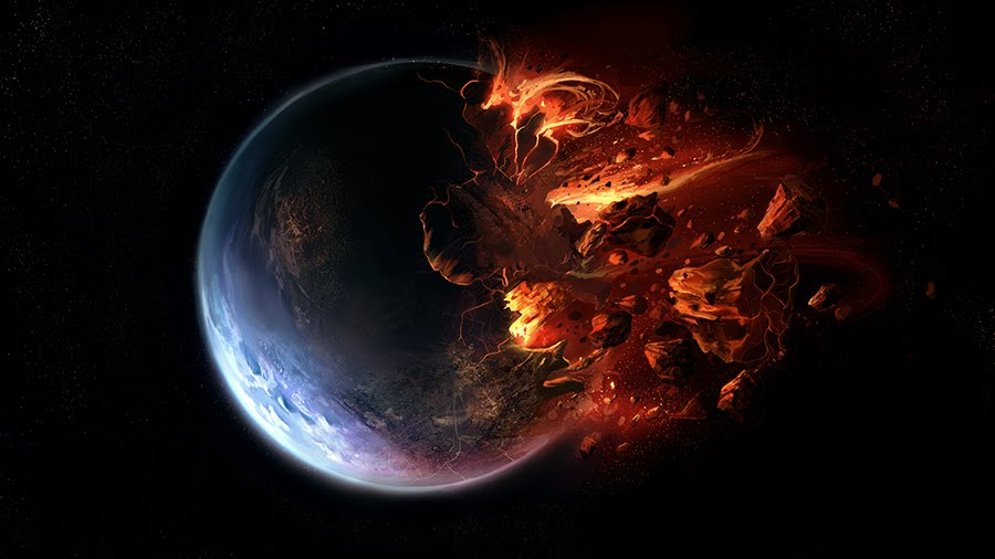 black hole destroying a planet - photo #18
