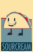 Taco Obey Poster