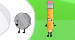 Nickel and Pencil
