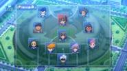 Shinsei Inazuma Japan Formation Galaxy 7 HQ