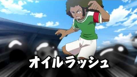 Inazuma Eleven GO Galaxy Oil Rush (オイルラッシュ) HD