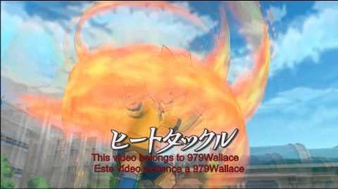 Inazuma Eleven Strikers 2012 Xtreme - Heat Tackle (Gouenji Masato)