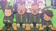 4 of Kidokawa's members watching the selection match EP 68