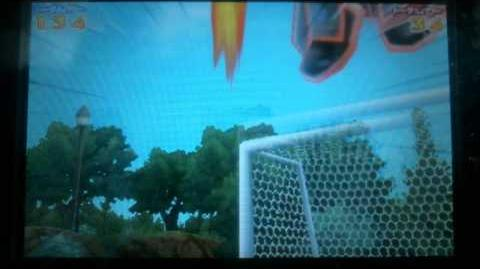 Inazuma Eleven GO 2 Burning Catch