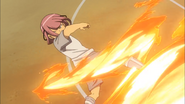 Arata using Fire Tornado HQ