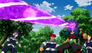 Zanark shooting a purple laserbeam out of his mouth (CS 18 HQ)