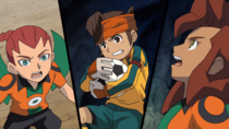 Endou catching the ball IE 111 HQ