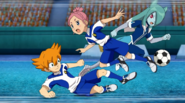 Minaho stealing the ball from his own teammate EP27