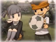 Endou and Fuyuka
