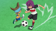Hayabusa passing Shinsuke GO 09