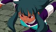 Dhanna ready to use her hissatsu (CS 21 HQ)