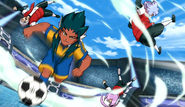 Garu's defense beaten by Super Zanark (CS 45 HQ)