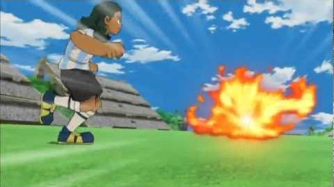 Inazuma Eleven Grand Fire VS Million Hands