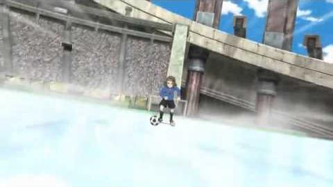 Inazuma eleven Episode 104 Freeze Shot