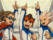Yuuto, Mamoru and Shuya
