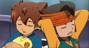 Endou and Tenma