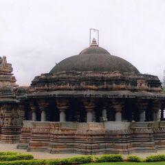 Isvara Temple at Arasikere in Hassan district.