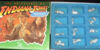 The Adventures of Indiana Jones Unpainted Metal Miniatures