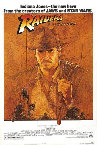 File:Raiders of the Lost Ark orignial poster.jpg