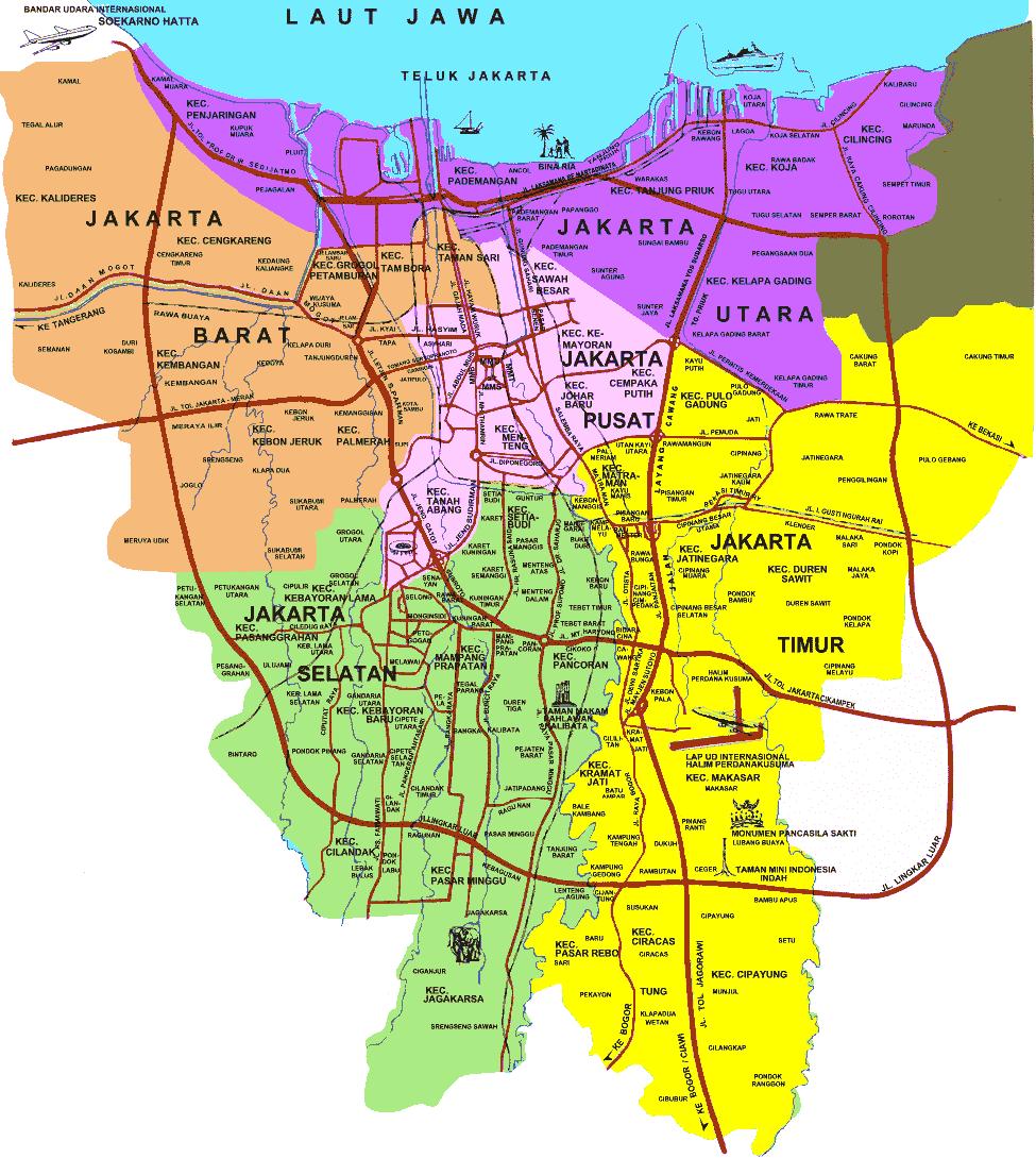 Jakarta Pusat Wikipedia Indonesia