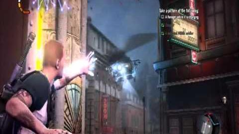 Infamous 2 - Trick Photography Past Decisions - Side Mission - Heroic Bad
