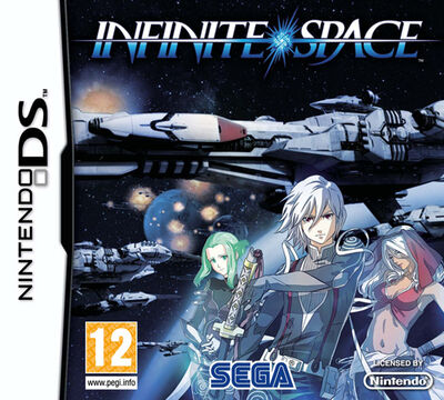 Infinite Space UK Box Art