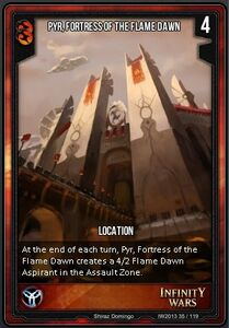 Pyr, Fortress of the Flame Dawn