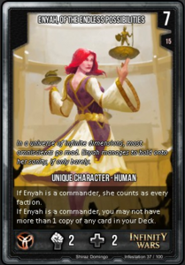 Enyah, Of The Endless Possibilities